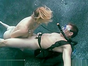 Underwater Fun Sex - Ali May