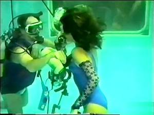 Modeling Underwater Girls