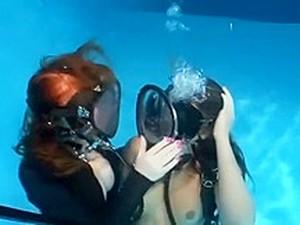 Underwater Fullface Mask Women