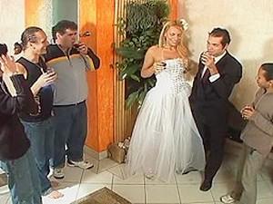 Tranny Bride Sex After Wedding