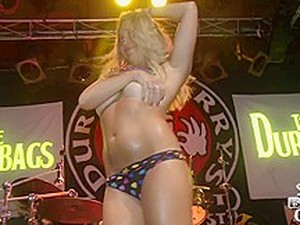 Fresh Full Nude Wet T-Shirt Skin To Win Contest By The Dirtbags At Dirty Harry's Key West - SouthBeachCoeds