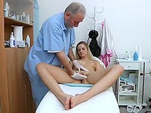 Special Gyno Exam For Teens Girls. Detailed Full Body And Pussy Medical