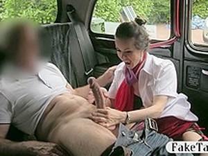 Horny Stewardess Sucks Off And Fucked With Pervert Dude