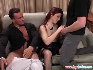 Melisa Golden Enjoys An Erotic Threesome With Two Lovers