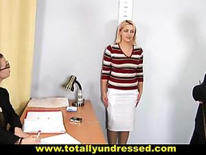Nude Job Interview
