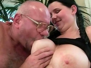 Lucky Grandpas Vs Young Girls Compilation