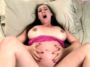 Put Another Baby In My Belly! Pregnant Kristi Impregnation POV Sex Fucking