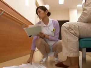 Yuri Kasiwa Is A Sexy Japanese Nurse Having Sex