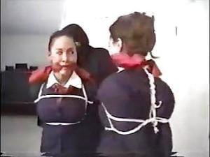 Stewardesses In Bondage