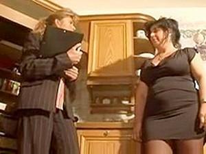 Belles grosses femmes,Vieille,Putain