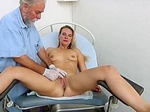 Bianca Ferrero Gyno Exam And Orgasm Heartbeat