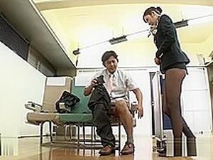 Азиатское порно,Японское порно,Стюардесса,Поезд