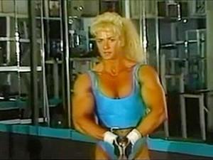 Old School Muscle Girl