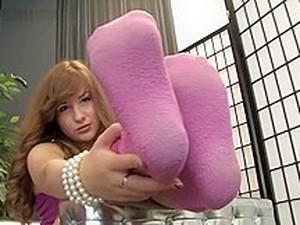 Pink Fuzzy Socks