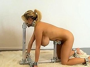 Naughty Slave Big Titty Babe Pumped  2-3
