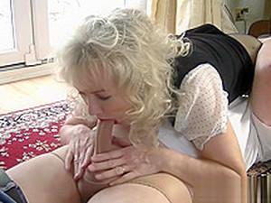 Grandma Smothered In Pantyhose