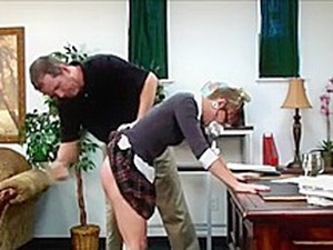 Spanked For No Panties