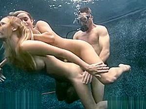 Threesome Underwater