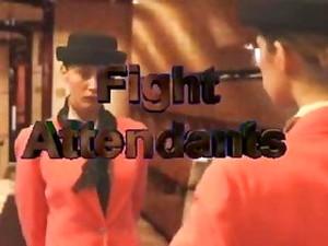 Stewardess Catfight!!!