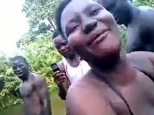 Африканское порно,Оргазм