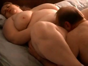Eating And Fucking Busty BBW White Housewife In Front Of Her Hubby