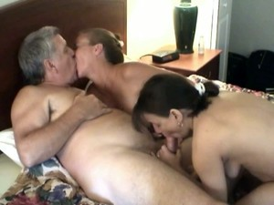 Two Kinky Bitches Get Fucked Doggystyle In FFM Threesome Sex Video