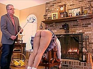 Kitty Spanked And Caned To Tears