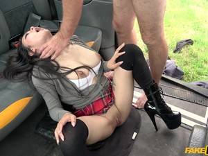 Rae Lil Black Has Amazing Fucking Skills In The Car And Likes A Facial
