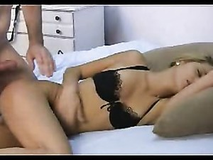 Slamming Her Sleeping Pussy With His Cock