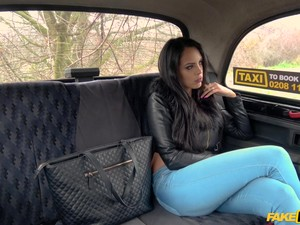 Katrina Moreno Adores When The Driver Fucks Her Badly In The Taxi