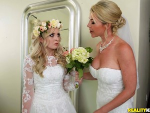 A Wedding Day Turns To A Blowjob And Hard Fuck For Horny Lexi Lore