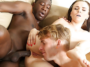 Wife Joanna Black Gets Ass Reamed By BBC