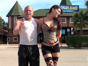 Bald Headed Short Man Bangs The Shit Out Of The Street Hooker In The Motel