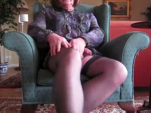 My Old Friend Nancy Is A Tranny And She Loves Jacking Off